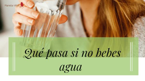 porque hay que beber agua