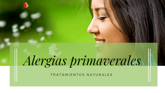 Remedios naturales para alergias primaverales